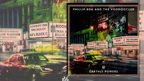 Earthly Powers von Phillip Boa & the Voodooclub