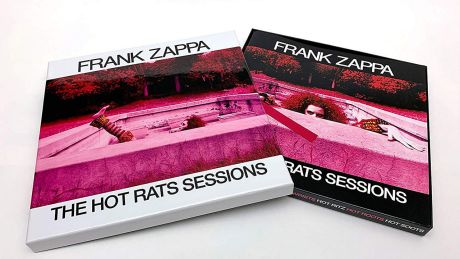 The Hot Rats Sessions von Frank Zappa