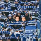 Tom Böttcher und Marco Seiffert als Hertha-Fans (Collage/Fotos: dpa/Jim Rakete)
