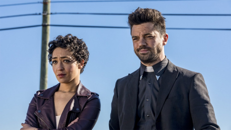 Dominic Cooper and Ruth Negga in Preacher © 2017 AMC Network Entertainment LLC. and Sony Pictures Television Inc.