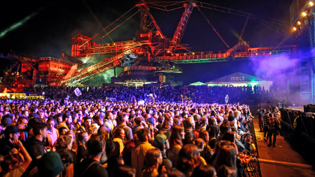 Melt-Festival 2017 in Ferropolis, Gräfenhainichen © imago images/STAR-MEDIA