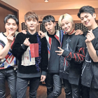 Die südkoreanische K-Pop-Boygroup BiGFLO © imago/ZUMA Press