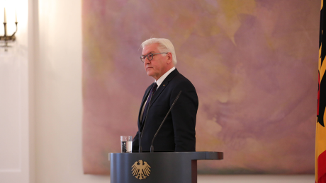 Bundespräsident Steinmeier im Schloß Bellevue © imago/Pacific Press Agency