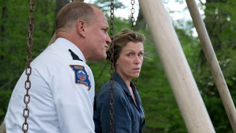 Woody Harrelson und Frances McDormand in Three Billboards Outside Ebbing, Missouri