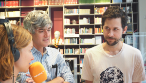 Keith Murray und Chris Cain aka We Are Scientists © radioeins/Nina Klippel