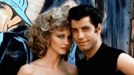 "Olivia Newton-John und John Travolta in ""Grease"" (1978) © imago/Prod.DB"