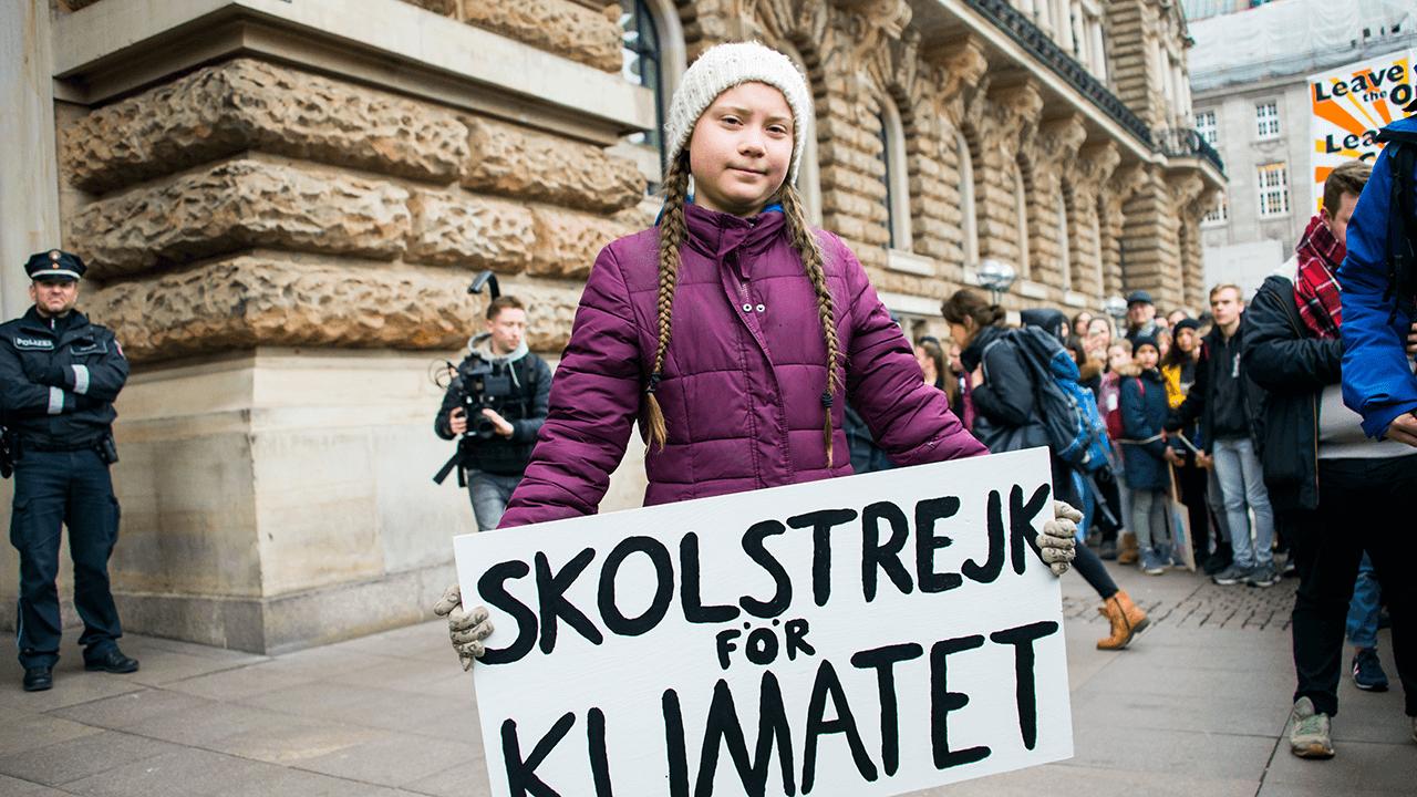 Klima-Aktivistin Greta Thunberg
