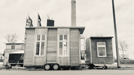 Tiny House Ville in Berlin-Lichtenberg © Tiny Foundation