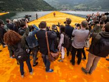 Christo - Walking on Water | © Alamode Filmdistribution oHG