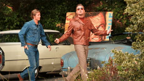 "Brad Pitt und Leonardo DiCaprio in ""Once Upon A Time... In Hollywood"" © Sony Pictures"