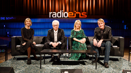 Kate Mosse, Ken Follett, Jojo Moyes und Lee Child (v.l.n.r.) © Stefan Wieland