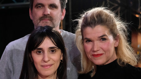 Amnesty International Filmpreis-Jury: Sebastian Schipper, Maryam Zaree und Anke Engelke © snapshot-photography/T. Seeliger