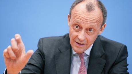 Paritätische CDU-Listen mit Frauen wären Männer-Diskriminierung, meint Friedrich Merz © dpa/Kay Nietfeld