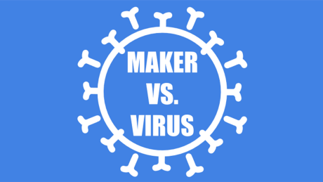 Maker vs. Virus (Logo)