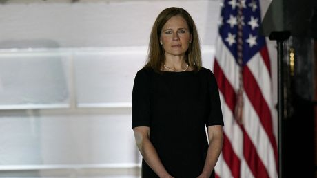 Amy Coney Barrett am 26. Oktober 2020