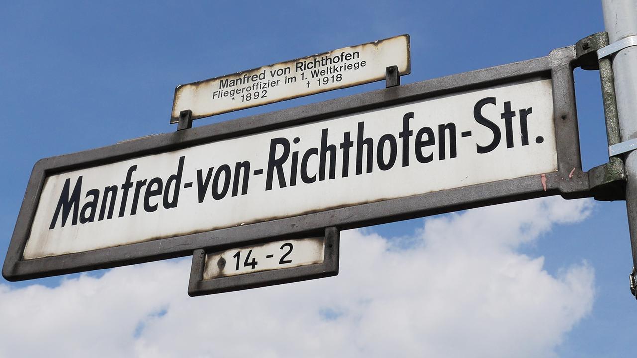 Die Schöne Straße - Manfred-von-Richthofen-Straße in Tempelhof   radioeins