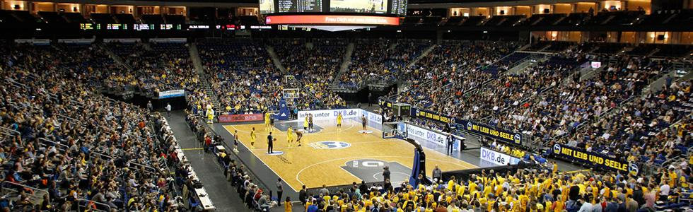 ALBA Berlin in der Mercedes-Benz Arena Berlin © Thomas Schmidt
