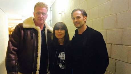Queens Of The Stone Age & Christiane Falk