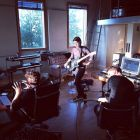 The xx im Studio