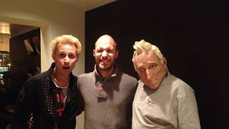 Mike Dimt (Green day) & Simon Brauer (radioeins)