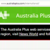 The Australia Plus web services will soon be closing.