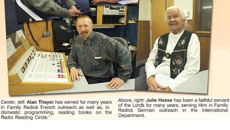 Julie Hesse has been a faithful servant of the Lords for many years.