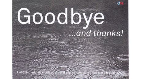Radio Netherlands, 29 June 2012: Goodbye ...and thanks!