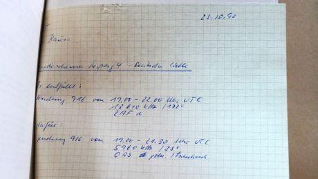 """""""Es entfällt 13610 kHz, neu dafür 5960 kHz"""""""
