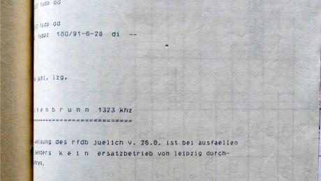 """""""Wachenbrunn 1323 kHz – kein Ersatzbetrieb von Leipzig"""""""