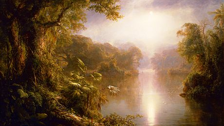 River of Light, Frederic Edwin Church