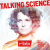 Logo für den Podcast Talking Science (Quelle: rbb)